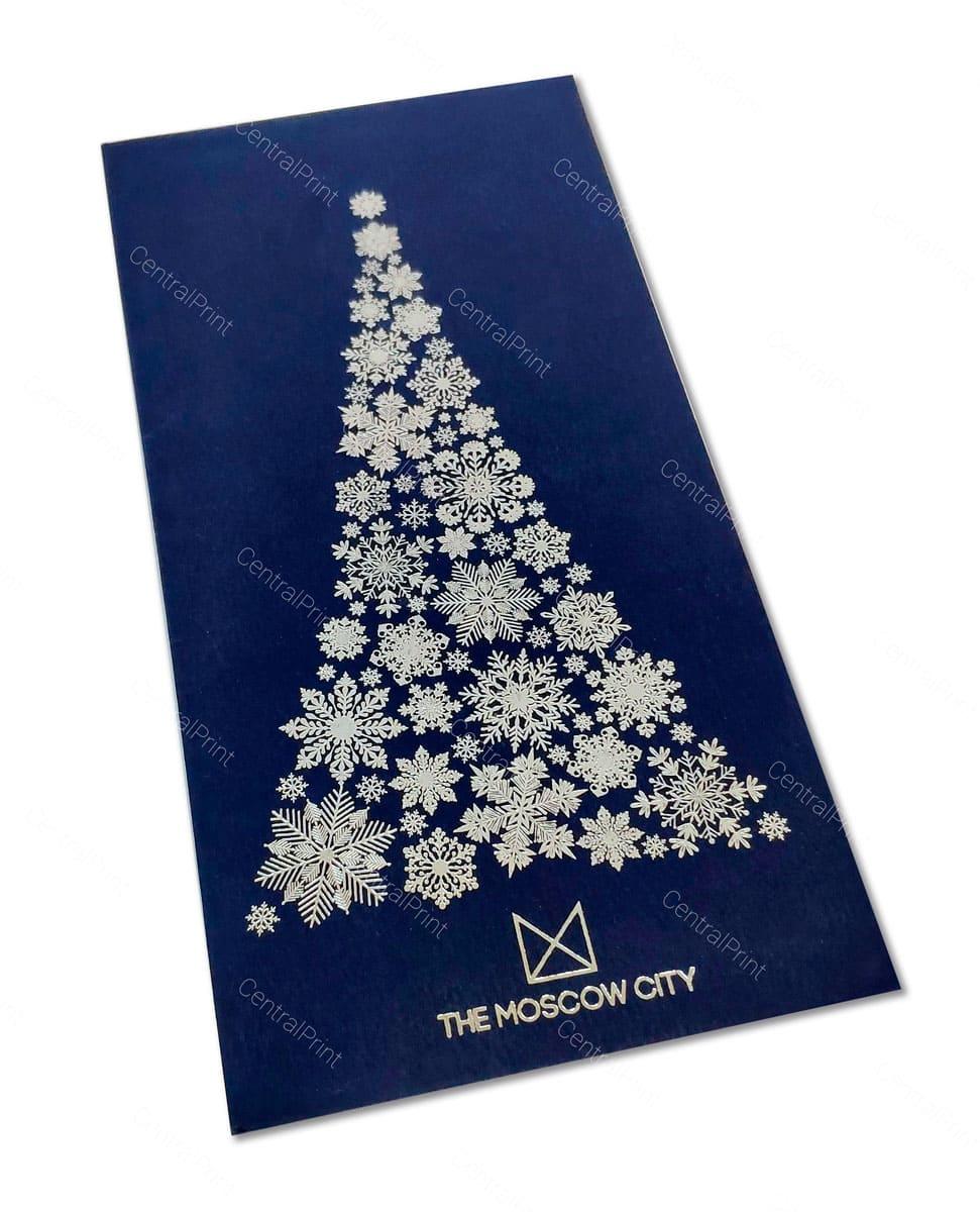 открытки к новому году с елочкой