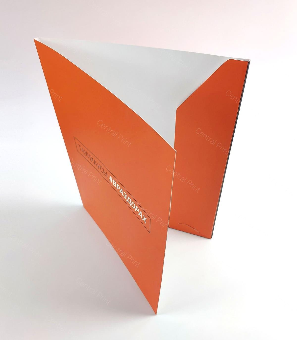 папка для документов в стиле фирмы