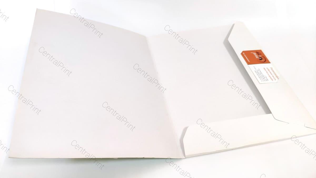 папки в фирменном стиле