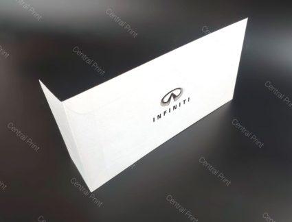 фирменный конверт инфинити