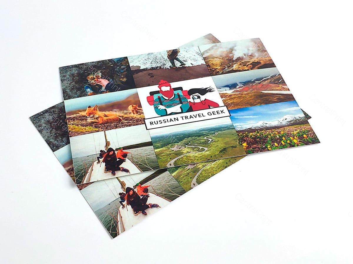 печать открыток с любым дизайном