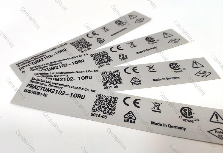 Печать наклеек со штрих кодами